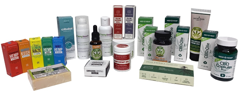 All CBD oil products