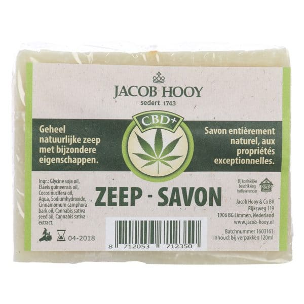 Product image of Jacob Hooy CBD Soap