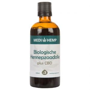 Product image of Medihemp Organic Hemp Seed Oil Plus CBD - 240mg (100ml)