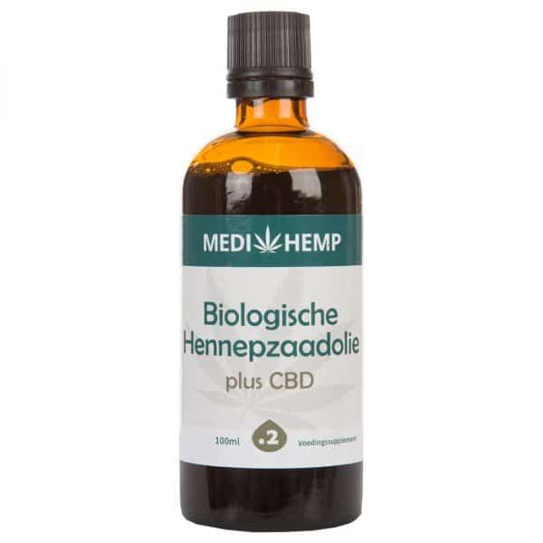 Product image of Medihemp Organic Hemp Seed Oil Plus CBD - 240mg (100ml)