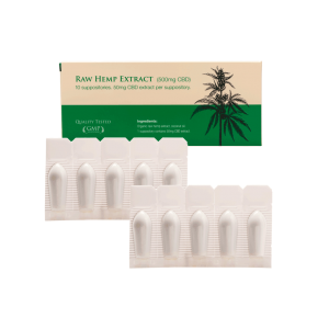 Product image of Potent Endoca CBD-suppositories (10*50 mg)