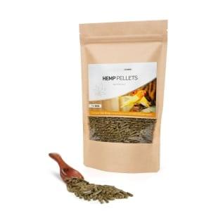Bird food with CBD from cannabis plant
